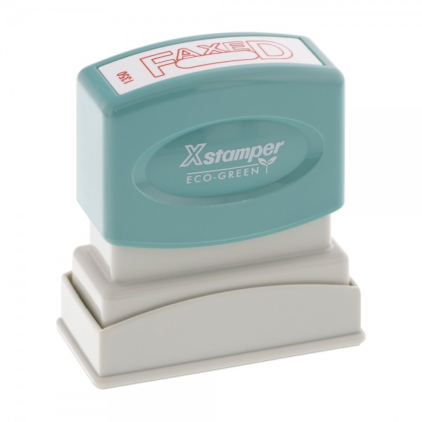 Xstamper Pre-Inked Stock Stamp - FAXED (1350)